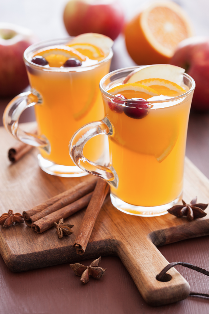 Warm Whiskey Cider