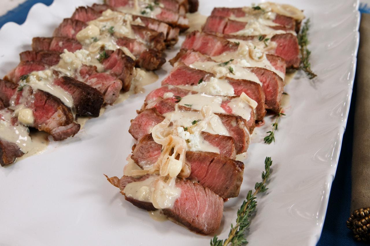 Blue Cheese-Aged Ribeye Steak