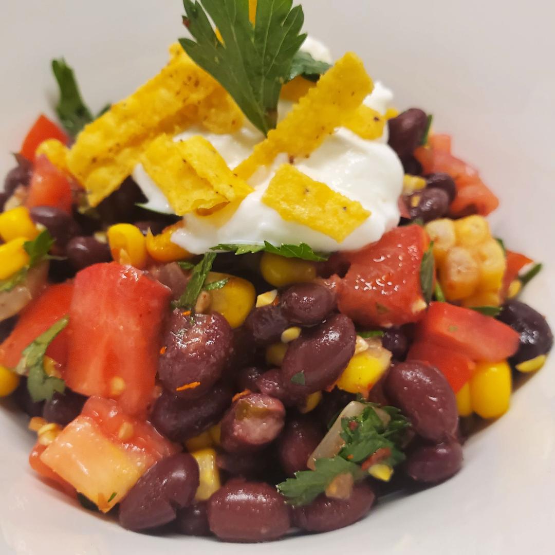 Black Bean Crunch Salad
