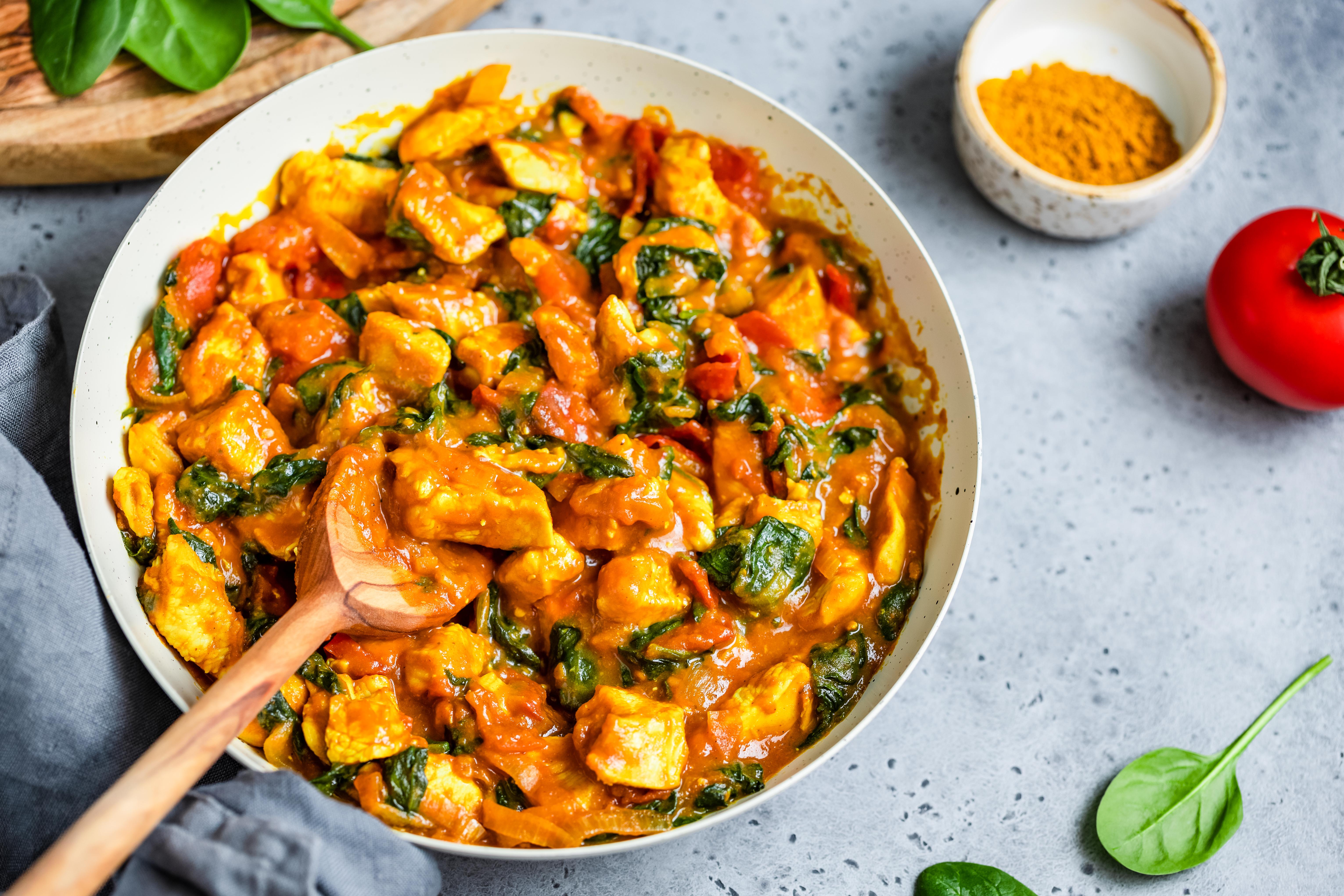 Curry Chicken Skillet Dinner