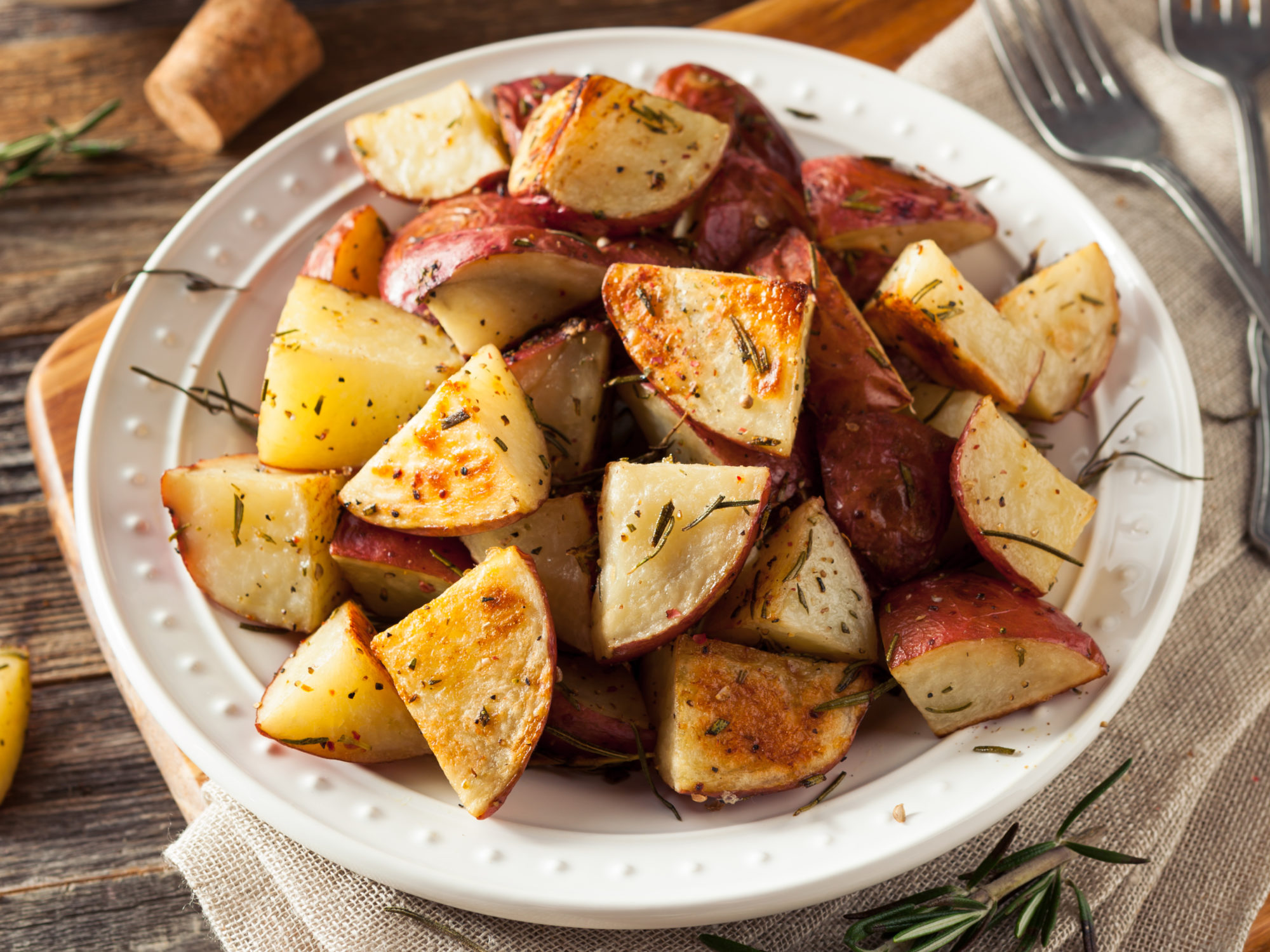 Dijon Roasted Potatoes Chefjamika Com