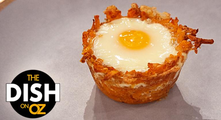 Egg & Hash Brown Baskets