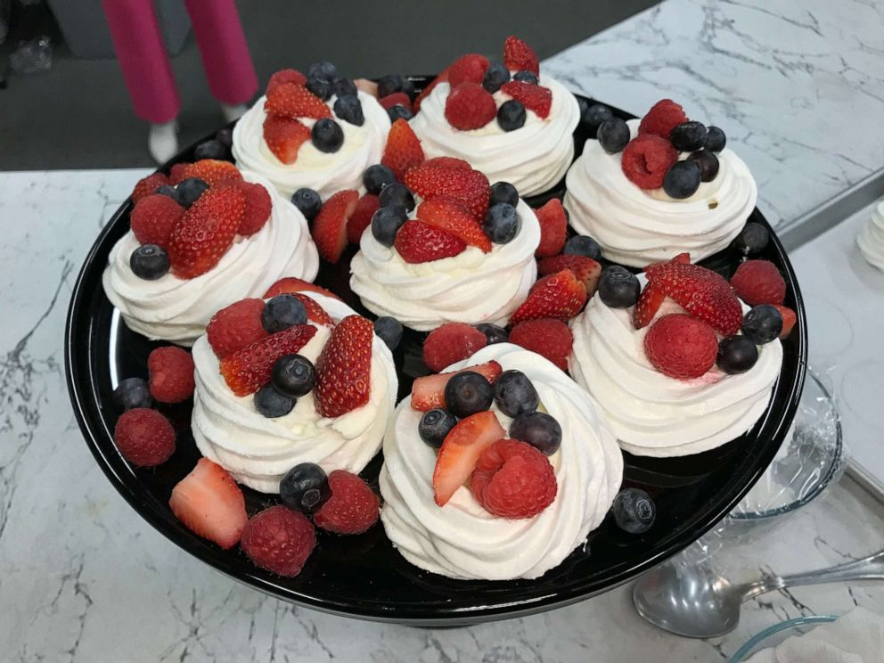 Pavlova with Mixed Berries – As Seen on GMA