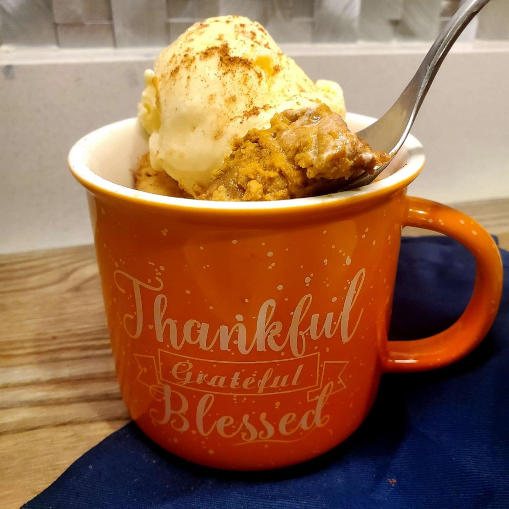 Sweet Potato Pie in a Mug–As Seen on GMA