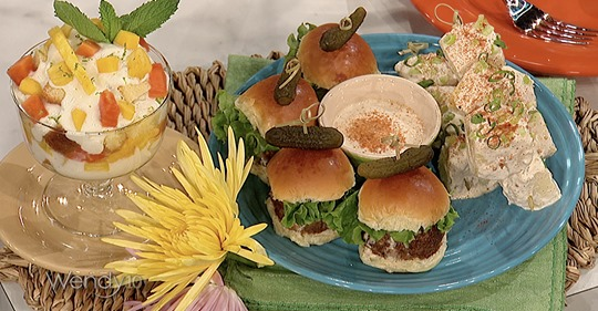 As Seen On The Wendy Williams Show – Jerk Chicken Sliders