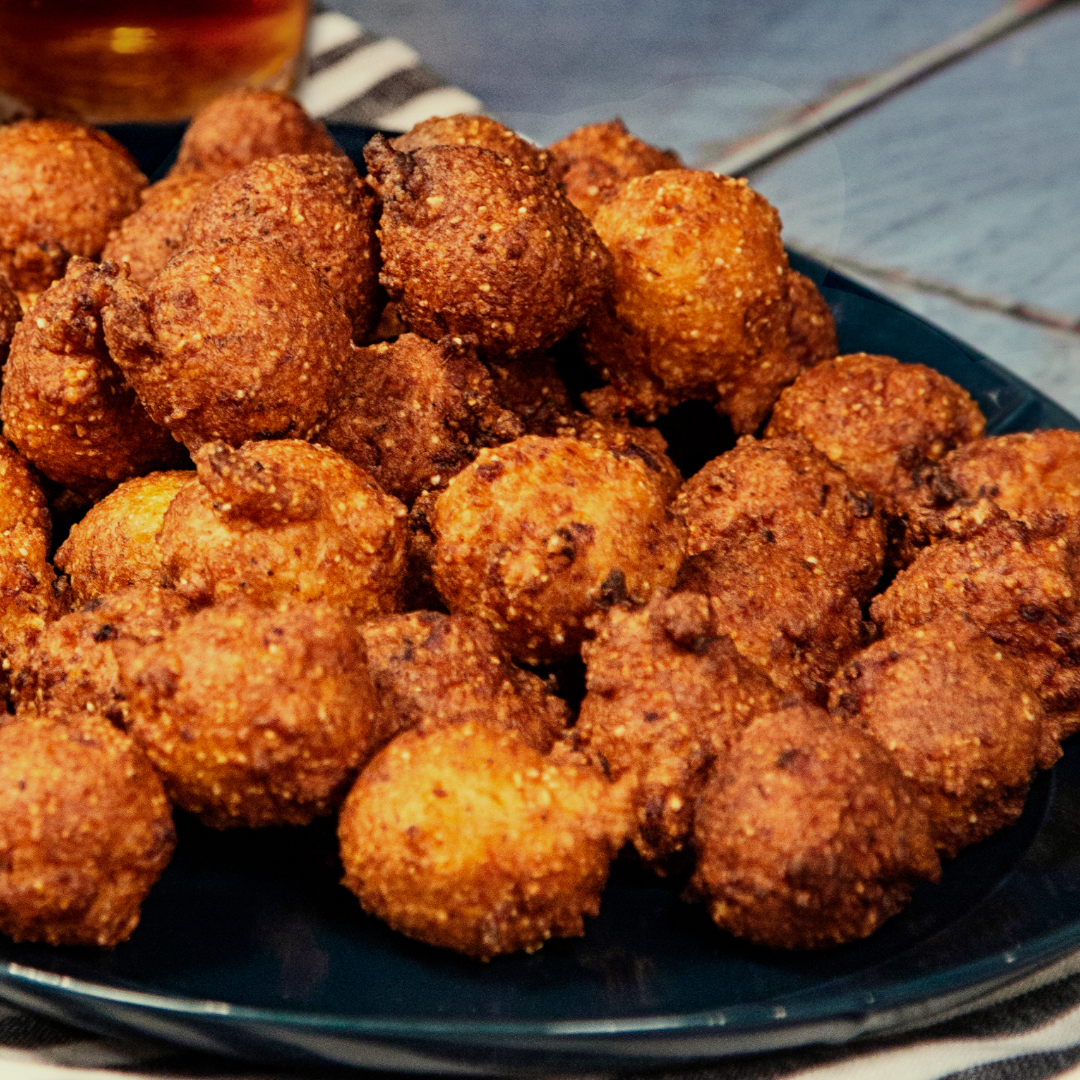 Shrimp & Grits Hushpuppies